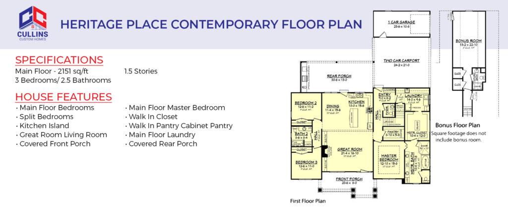 Contemporary Floor Plan