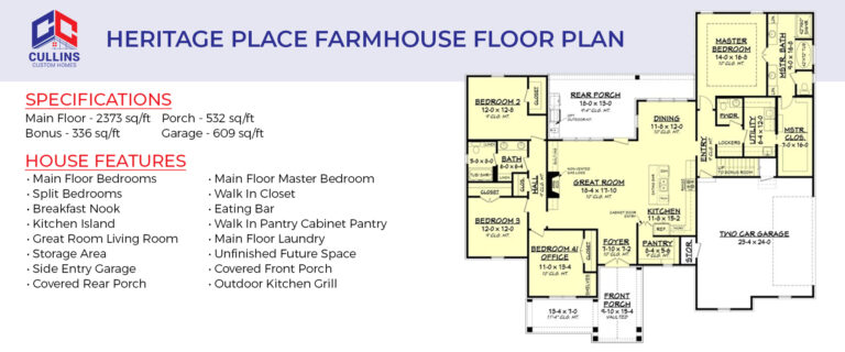 Farmhouse Floor Plan
